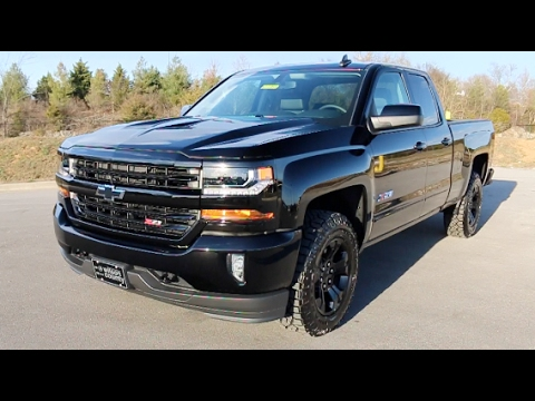 2017 chevy silverado 1500 z71 double cab 4x4 midnight edition at wilson county motors lebanon. Black Bedroom Furniture Sets. Home Design Ideas