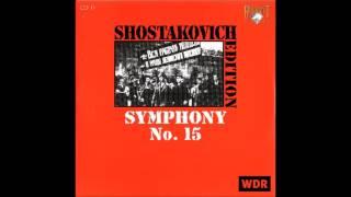 Shostakovitch - Symphony No. 15