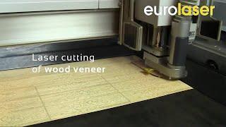 Laser Cutting Of Wood Veneer - Laserschneiden Von Holz-furnier - Eurolaser
