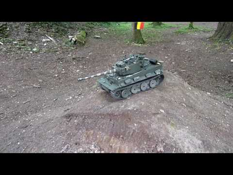 RC Tank Tigre 1 Full metal Systeme de tourelle Canon 360° 11/5/2017(00000)