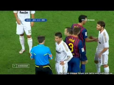 FC Barcelona vs Real madrid 3-2 Messi fight Marcelo
