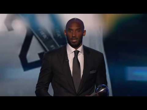 Kobe Bryants Espys Icon Award Ch
