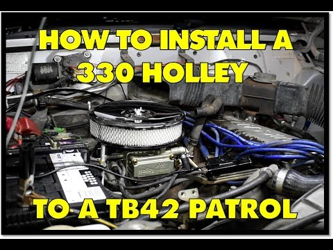 480 Holley Conversion kit suit Nissan Patrol TB42 Carburettor EXTREME  UPGRADE