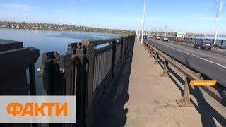 На другой берег можно не доехать: аварийный мост в Николаеве