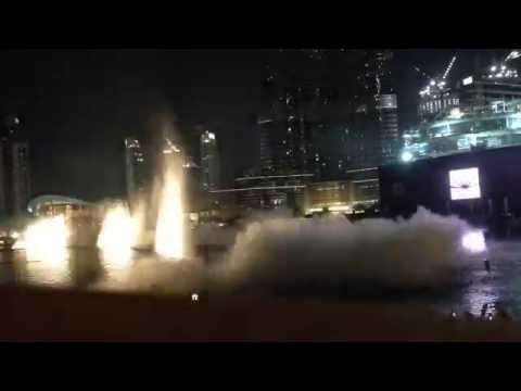 Time~Lapse Dubai Fountains Business Bay