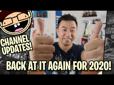 Draw It, Too! Is Back! | Channel Updates | Happy 2020!