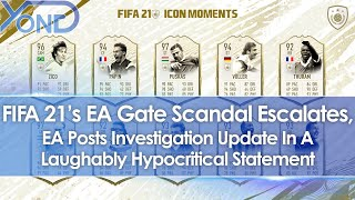 FIFA 21's EA Gate Scandal Escalates, EA Shares Investigation Update In Hypocritical Statement