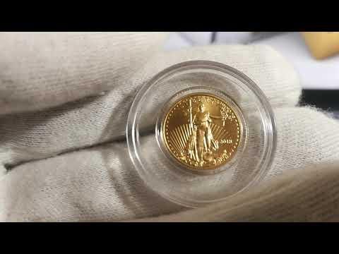 --- 2018 American Gold Eagle 10th Ounce  $5 Bullion Coin ---