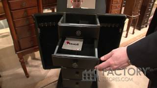 Powell Furniture Jewelry Armoire - Factoryestores.com