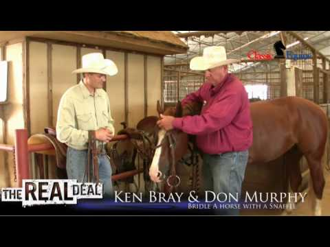 Ken Bray & Don Murphy - Bridling a Horse with a Snaffle