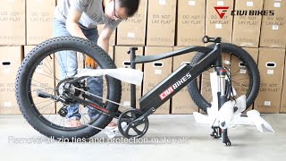 Revi Bikes (Civi Bikes) Predator Electric Bike Assembly