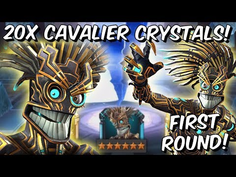 20x 6 Star Warlock & Sunspot Cavalier Featured Crystal Opening! - Marvel Contest of Champions