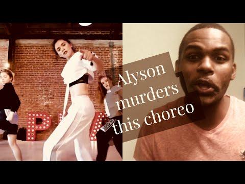 Alyson Stoner - Fairplay (AMAZING CHOREOGRAPHY)
