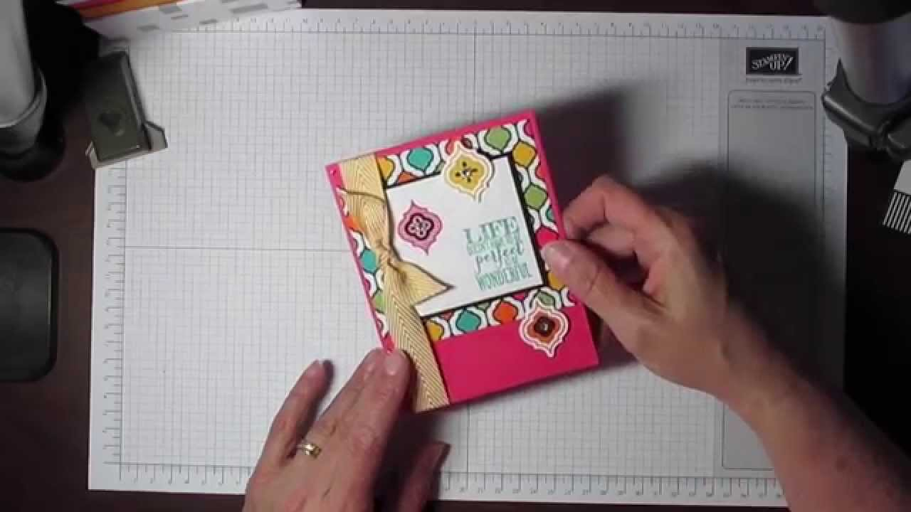 Stampin up project life memories greeting cards notes and stampin up project life memories greeting cards notes and envelopes youtube kristyandbryce Gallery