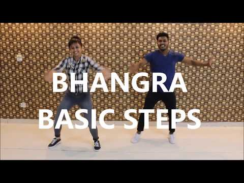 Bhangra basic steps #5 | bhangra Tutorial | easy steps for bhangra by The dance mafia