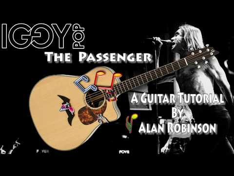 The Passenger - Iggy Pop - Acoustic Guitar Lesson (easy-ish)