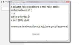 Zapętlaj Kako poslati e-mail ! | Sanel Hasanovic