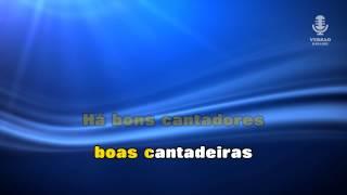 ♫ Karaoke FADINHO SERRANO (versão baile) - Popular