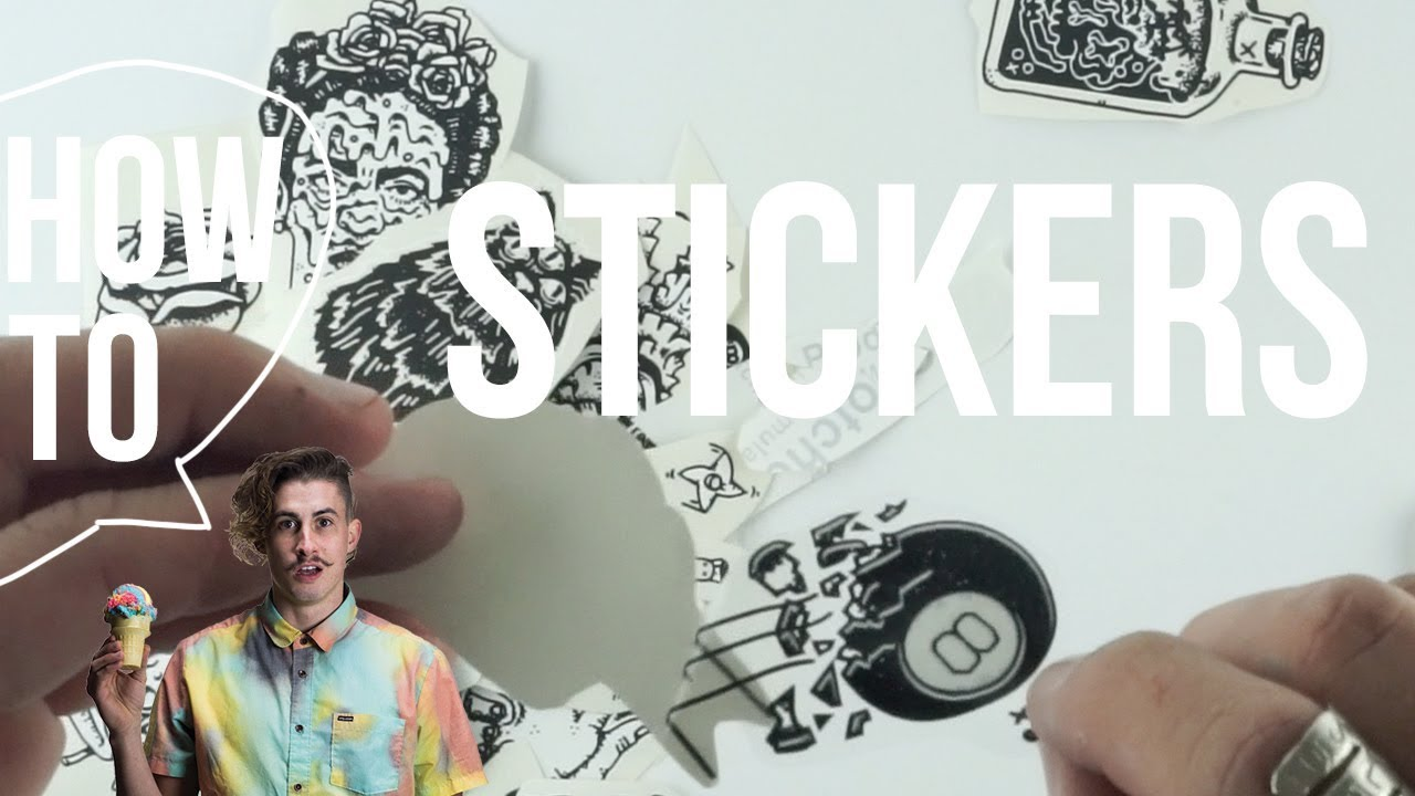 How to make your own stickers