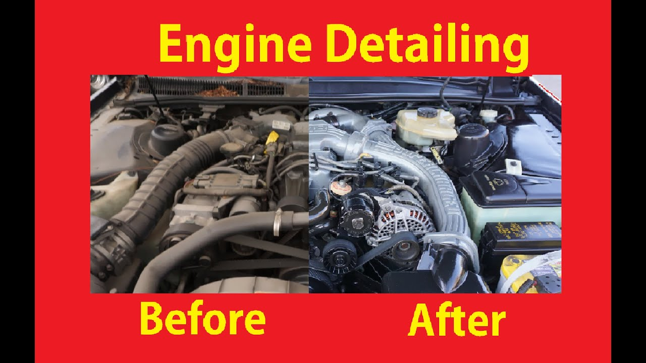 Diy Engine Cleaning Detail Motors How To De Grease Car