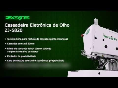 CASEADEIRA ELETRÔNICA DE OLHO ZOJE ZJ-5820