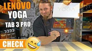 LENOVO YOGA TAB 3 PRO – Ein Tablet mit eingebauten Beamer? [Review, German, Deutsch]