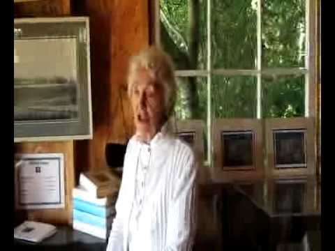 Mrs  Mcneill introduces history of L.M. Montgomery Cavendish Home