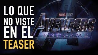 Primer teaser de Avengers Endgame (Análisis)