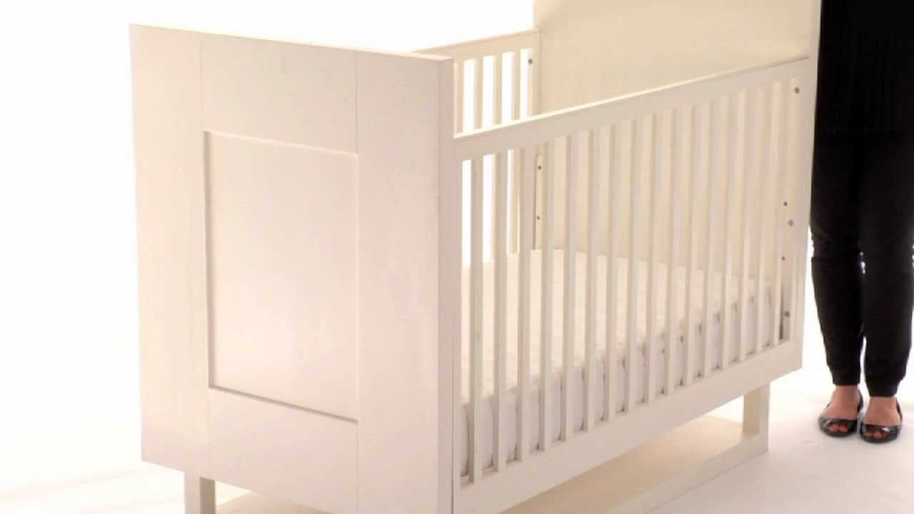 Baby cribs pottery barn - Add Functionality And Style To The Nursery With The Mercer Baby Crib Pottery Barn Kids