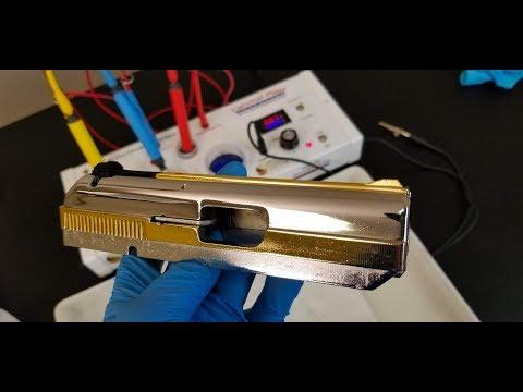 Gold Plating a Gun Slide – 24K Pen Plating