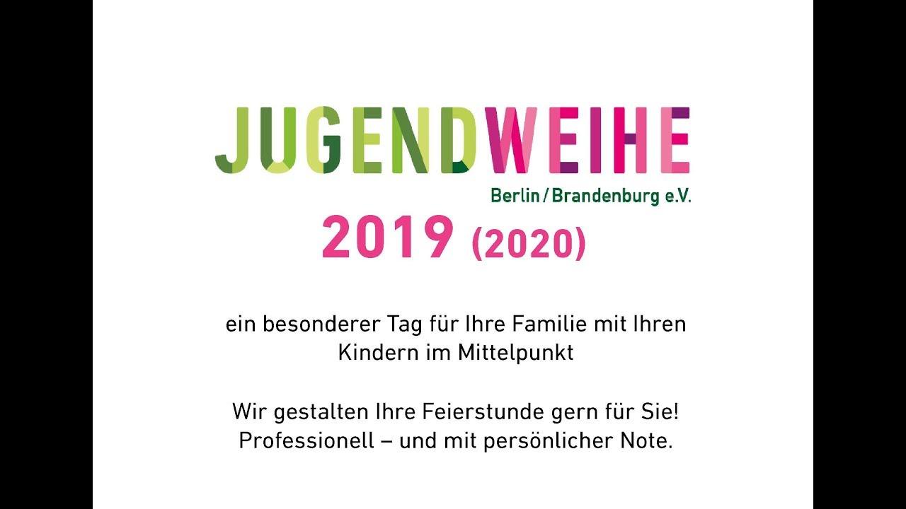 Infopräsentation Jugendweihe Berlin/Brandenburg 2019