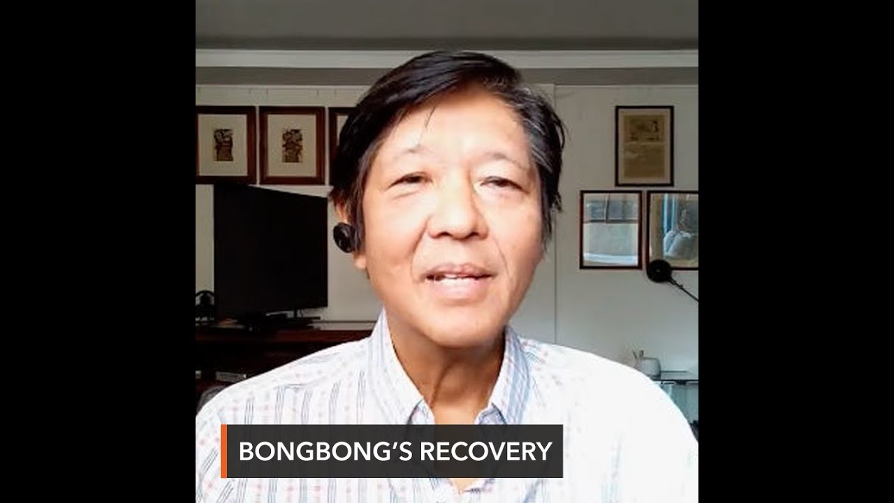 Download Bongbong Marcos recovers from coronavirus: 'I'm feeling better'