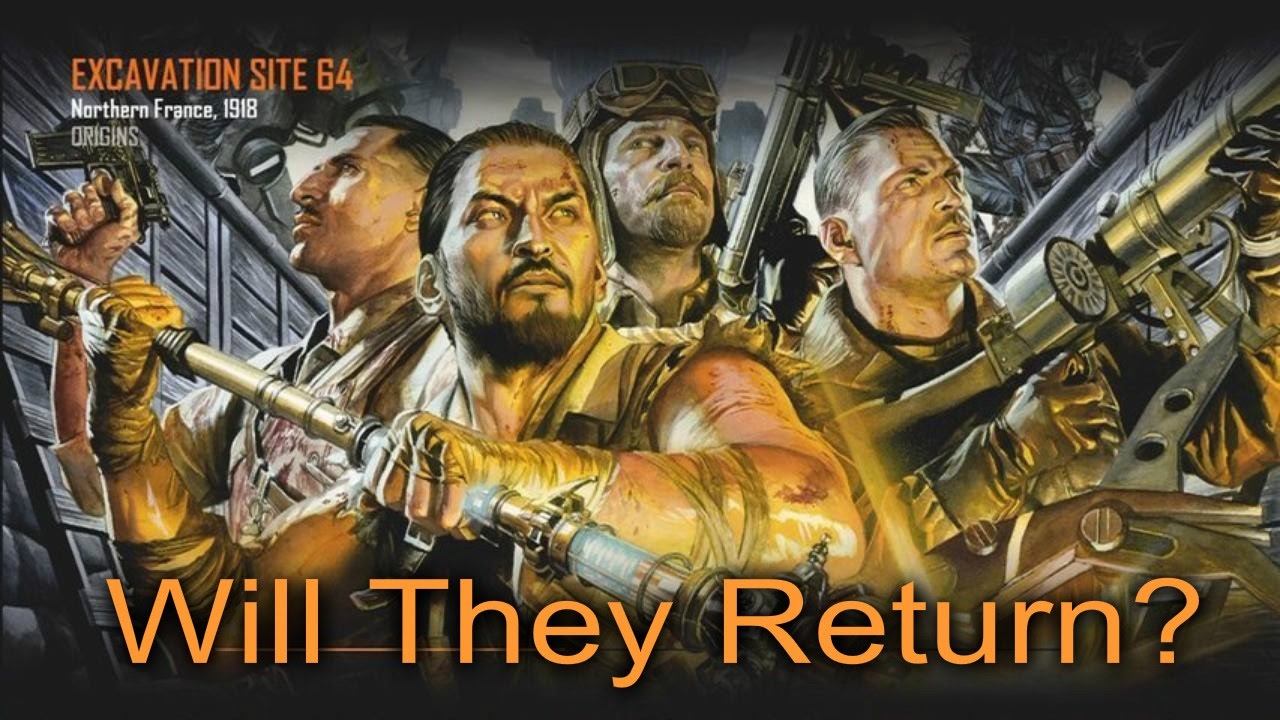 Call Of Duty Black Ops 3 Old Zombie Characters Returning Youtube