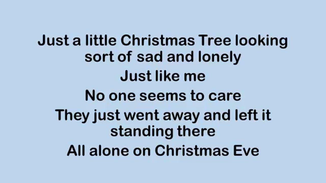 Little Christmas Tree Lyrics