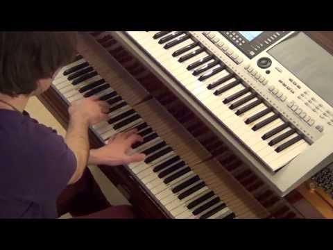 Alexis Jordan - Acid Rain - piano & keyboard synth cover by LIVE DJ FLO