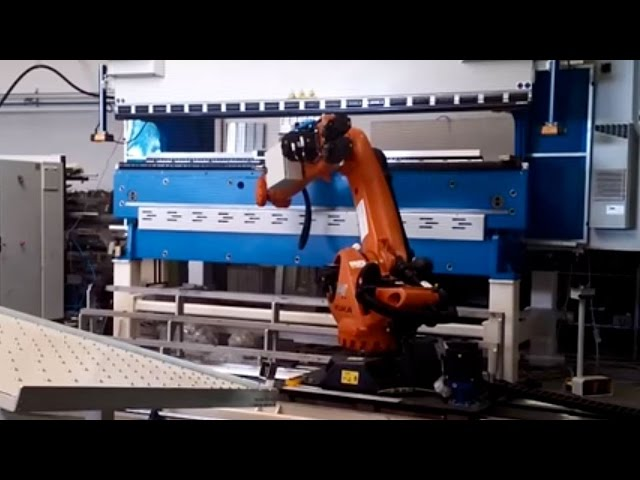 ROBOT - CELLA PIEGATURA DOPPIA PRESSA CON CARICATORE - CELL BENDING DOUBLE PRESS WITH LOADER