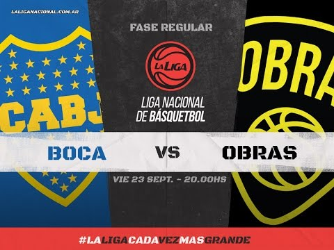 Liga Nacional: Boca vs. Obras | #LaLigaEnTyC