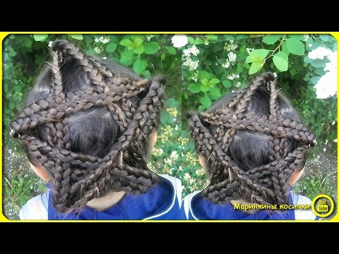 🌟ПрическаЗвезда | Star hairstyles🌟 - How to braid child to school? Как заплести ребенка в школу?