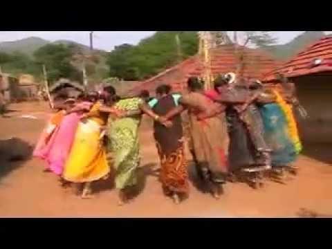 tribal telugu song-paderu tribal dance-araku dimsa dance