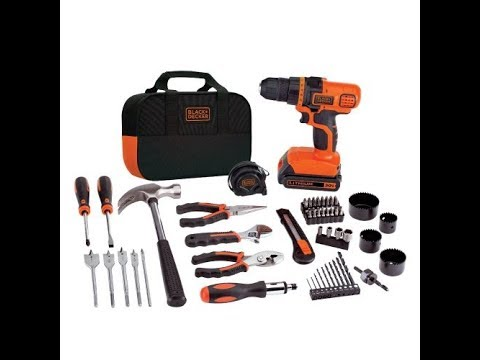Review BLACK+DECKER LDX120PK 20-Volt MAX Lithium-Ion Drill and Project Kit