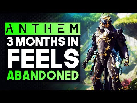 Anthem 3 Months Later Status Report -  Almost Completely Abandoned & All Dev Communication Stopped