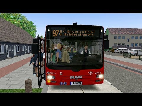 OMSI 2 Add-On Bremen Nord - MAN Lions City - Line 97 Blumenthal