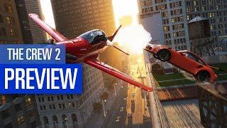 The Crew 2 Gameplay PREVIEW / VORSCHAU zum MMO-Racer