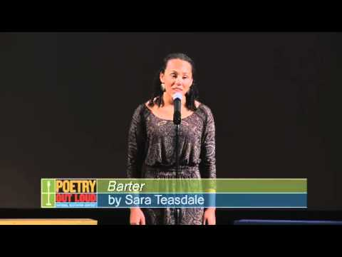 Poetry Out Loud 2012 NJ State Finals: Sarah Finnan performs