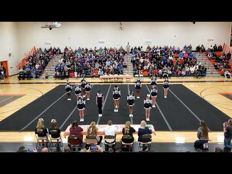 Lake Ridge Middle School at Spirit Spectacular Cheer Competition 2020