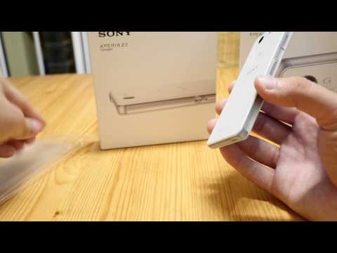 Sony Xperia Z3 Compact Unboxing [4K]