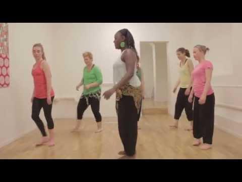 African dance Class -Sweden by Jungle fever® dance