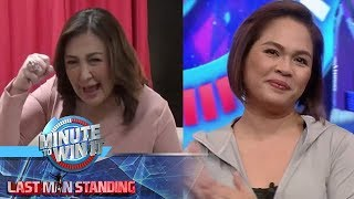 Minute To Win It - Sharon Cuneta's good luck message for Judy Ann