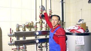 видео Регулировка температуры теплого водяного пола и управление кранами