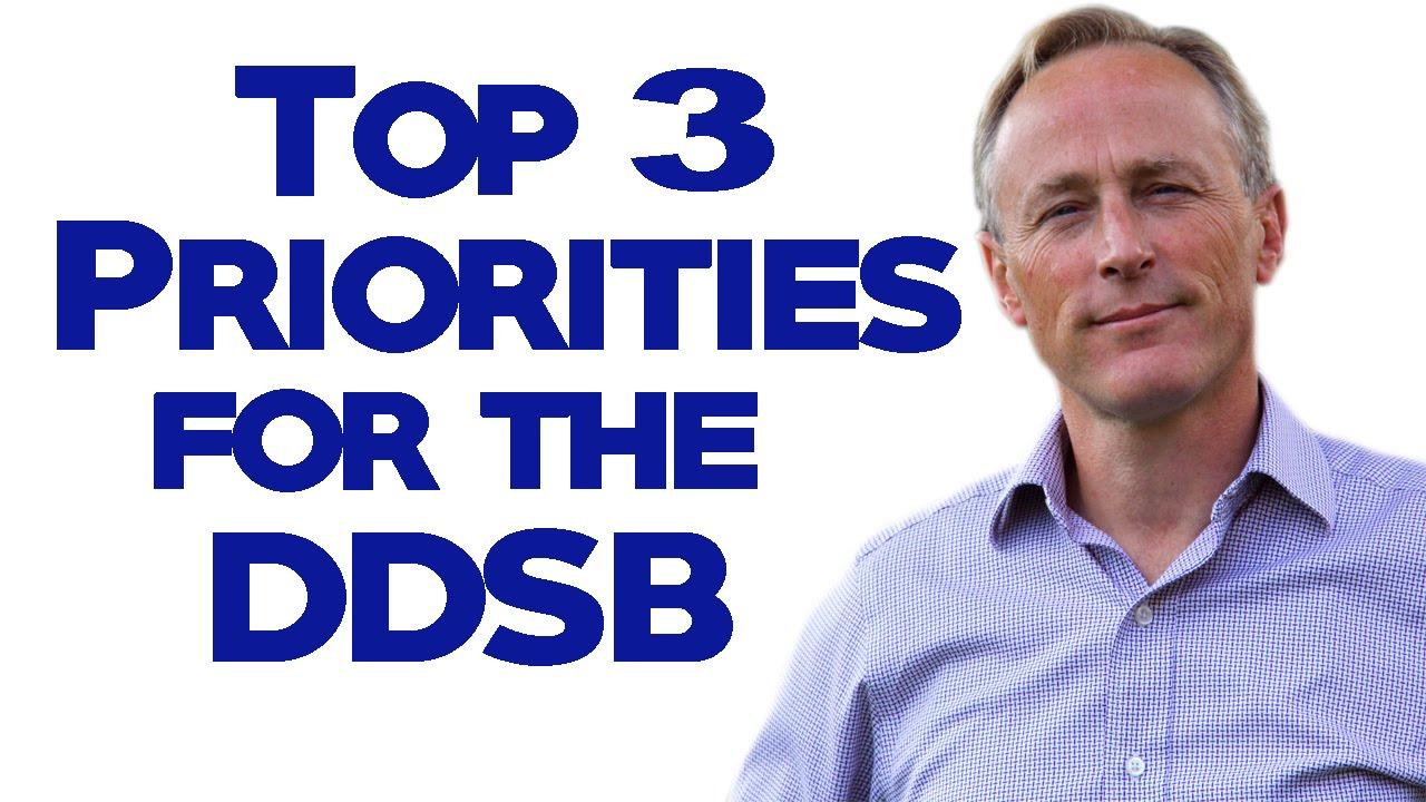 Top 3 Priorities for the School Board - YouTube
